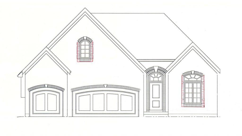 Bellah Homes: 1.5 Story A Plan